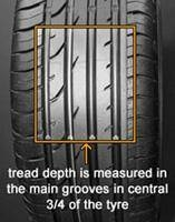 tread depth